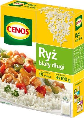 Cenos ryż biały długi 4x100g