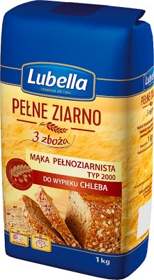 Lubella Pełne Ziarno mąka  3 zboża