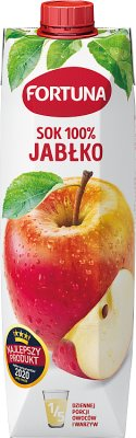 Fortuna sok 100% bez dodatku cukru jabłkowy