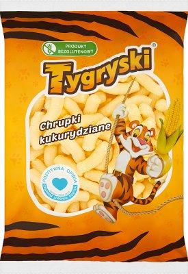 Tygryski chrupki kukurydziane