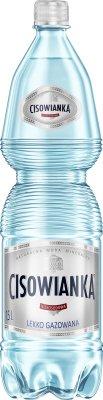 eau minérale et légèrement gazeuse