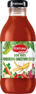 Fortuna WW+ sok wielowarzywny żeń-szeń