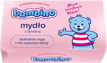 Bambino mydło pielęgnacyjne dla niemowląt i dzieci