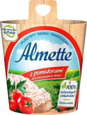 , Almette fromage crémeux avec tomates