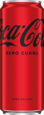 Coca-Cola Zero napój gazowany puszka