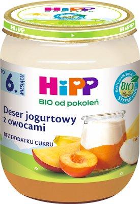 Deser jogurtowy z owocami BIO