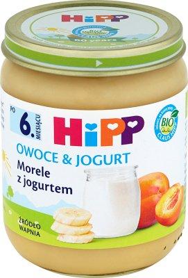 Morele z jogurtem BIO