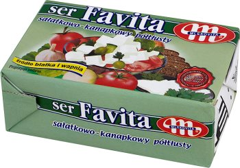 Favita Mlekovita ser sałatkowo-kanapkowy ser miękki solankowy 16% tłuszczu
