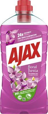Ajax Floral Fiesta płyn inwersalny do wszystkich powierzchni 1L Kwiat Bzu