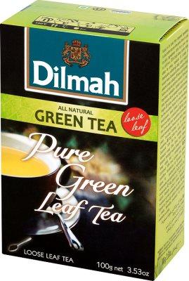 Dilmah Green Tea Natural herbata zielona duże liście