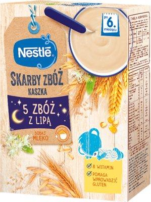 Nestle Zdrowy Brzuszek kaszka  5 zbóż z lipą