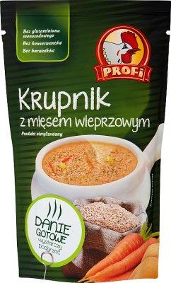 Profi Zupa Krupnik z mięsem z indyka