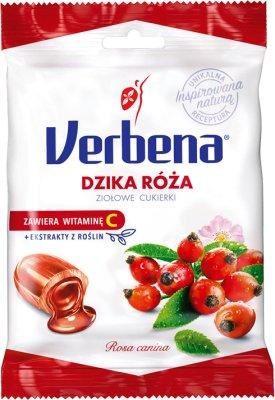 Verbena ziołowe cukierki z dziką różą i witaminą C