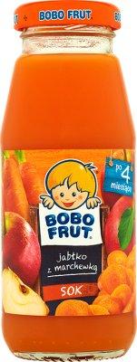 Bobo Frut sok 100%  jabłko z marchewką