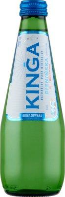 Kinga Pienińska mineralna woda niegazowana szklana butelka