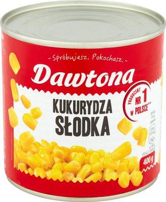 maïs doux en conserve