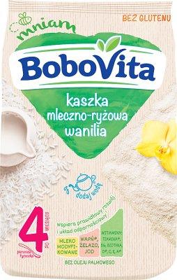 Bobovita kaszka mleczno-ryżowa waniliowa