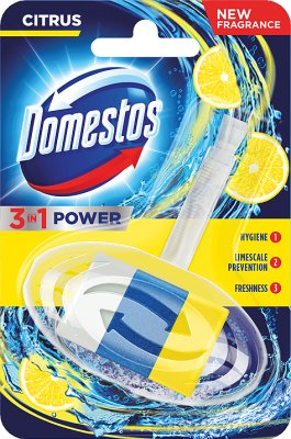 Domestos 3w1 Kostka do WC z koszykiem Citrus