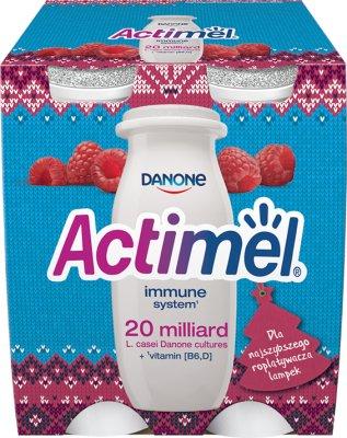 Danone Actimel - jogurt wzmacniający odporność  malinowy