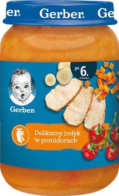 Gerber Obiadek  delikatny indyk w pomidorach