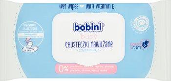 BOBINI детские влажные салфетки для детей с витамином Е
