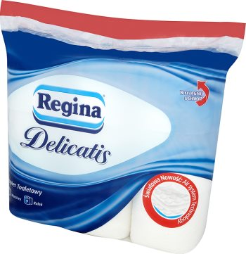 Regina Delicatis papier toaletowy biały