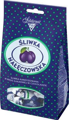 Solidarność śliwka Nałęczowska w czekoladzie