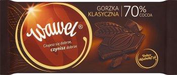 Czekolada Wawel Gorzka Dark 70%