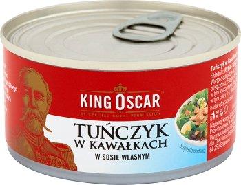 King Oscar Tuńczyk w kawałkach w sosie własnym