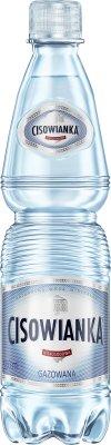 Cisowianka woda mineralna gazowana, mała butelka