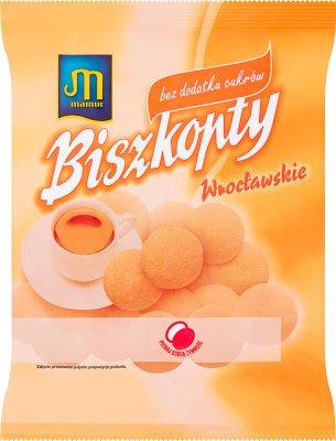 Mamut Biszkopty Wrocławskie bezcukrowe