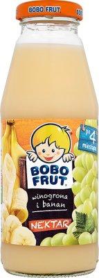 Bobo Frut nektar  winogrona i banan