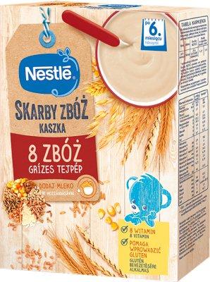 Nestle zdrowy brzuszek kaszka  8 zbóż