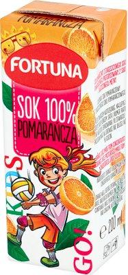 Fortuna Barbie sok 100% bez dodatku cukru pomarańczowy