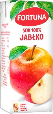 Fortuna Barbie sok 100% bez dodatku cukru jabłkowy