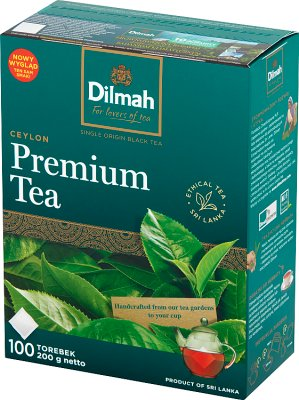 Dilmah Pure Ceylon herbata 100 torebek czarna