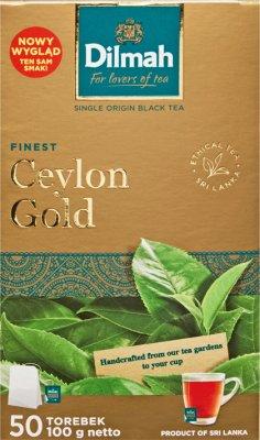 Dilmah Ceylon Gold herbata czarna 50 torebek