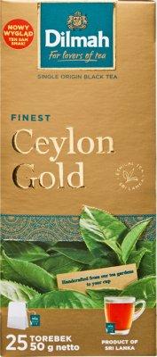 Dilmah Ceylon Gold herbata czarna 25 torebek