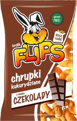 Flips chrupki kukurydziane czekoladowe