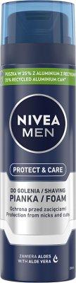 Nivea For Men nawilżająca pianka do golenia