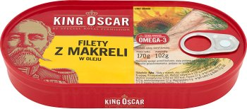 King Oscar filety z makreli w oleju