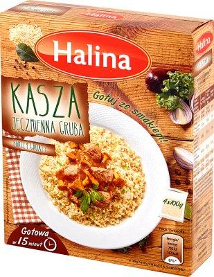 Halina Kasza jęczmienna gruba 4 x 100g