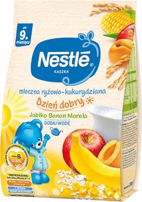laiteux riz - maïs bouillie de banane - pomme - abricot , Bifidus BL , 11 vitamines avec du lait modifié