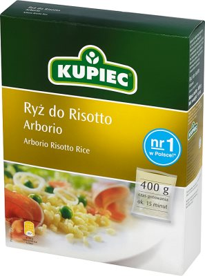 Kupiec Ryż do risotto arborio