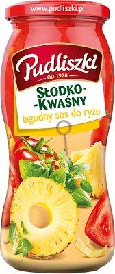 Pudliszki sos słodko-kwaśny łagodny