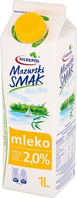 Mazurski Smak Mleko świeże 2%