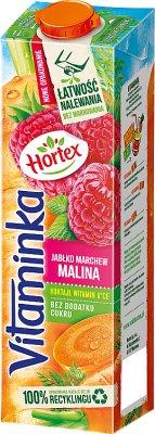 Hortex Vitaminka sok jabłko, marchewka, malina