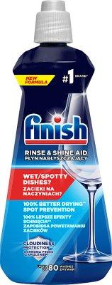 Calgonit Finish Shine & Dry Płyn Nabłyszczający do zmywarek