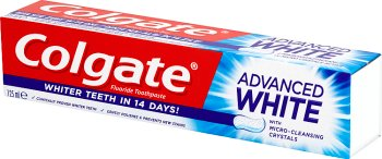 Colgate Advanced Whitening pasta do zębów bielsze zęby w 14 dni
