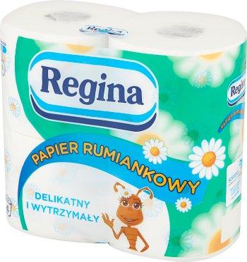Regina papier toaletowy rumiankowy 3-warstwowy 4 rolki